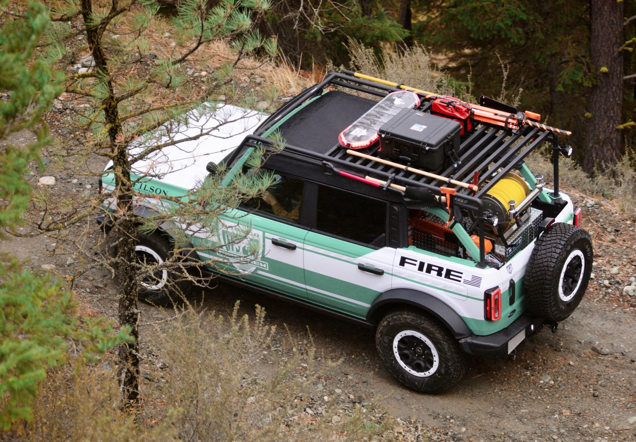 Ford Bronco to fight wildfires