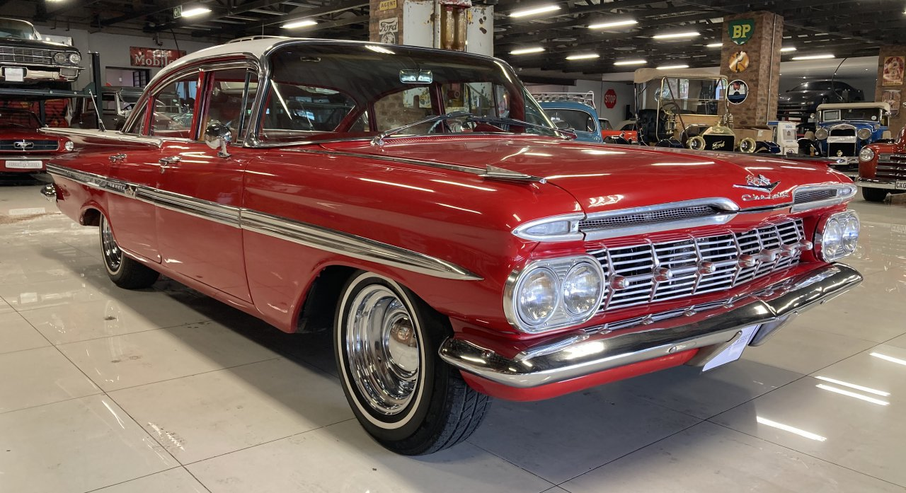 1959 Chevrolet Impala in South African auction private collection