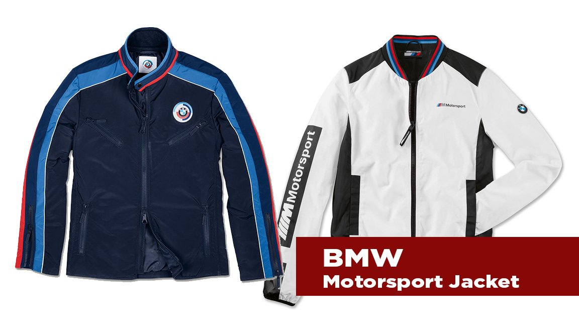The Journal's holiday gift guide | BMW Motorsport Jacket