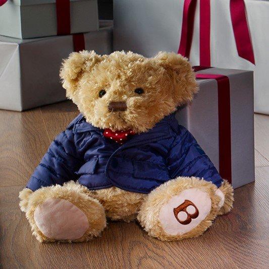 Bentley-themed holiday gift idea: Birkin teddy bear