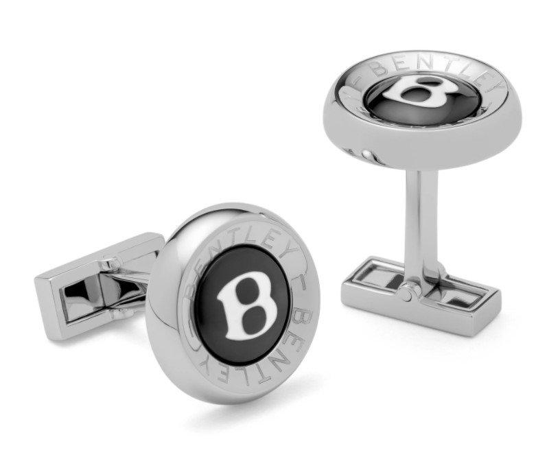 Bentley-themed holiday gift idea: Bentley 'B' Cufflinks