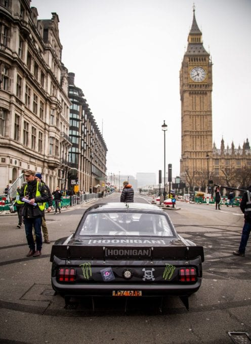 Hoonicorn Mustang took on downtown london for a Top Gear test
