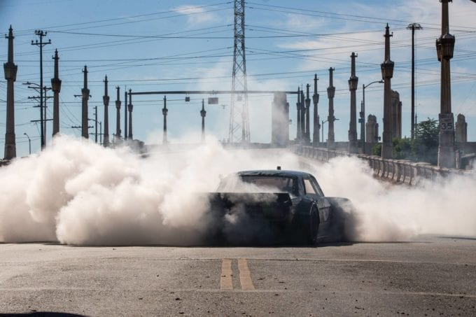 Hoonicorn Mustang invaded downtown Los Angeles for a shakedown