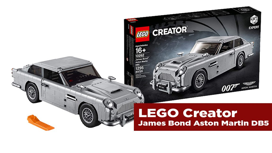 The Journal's holiday gift guide | LEGO creator James Bond Aston Martin D85