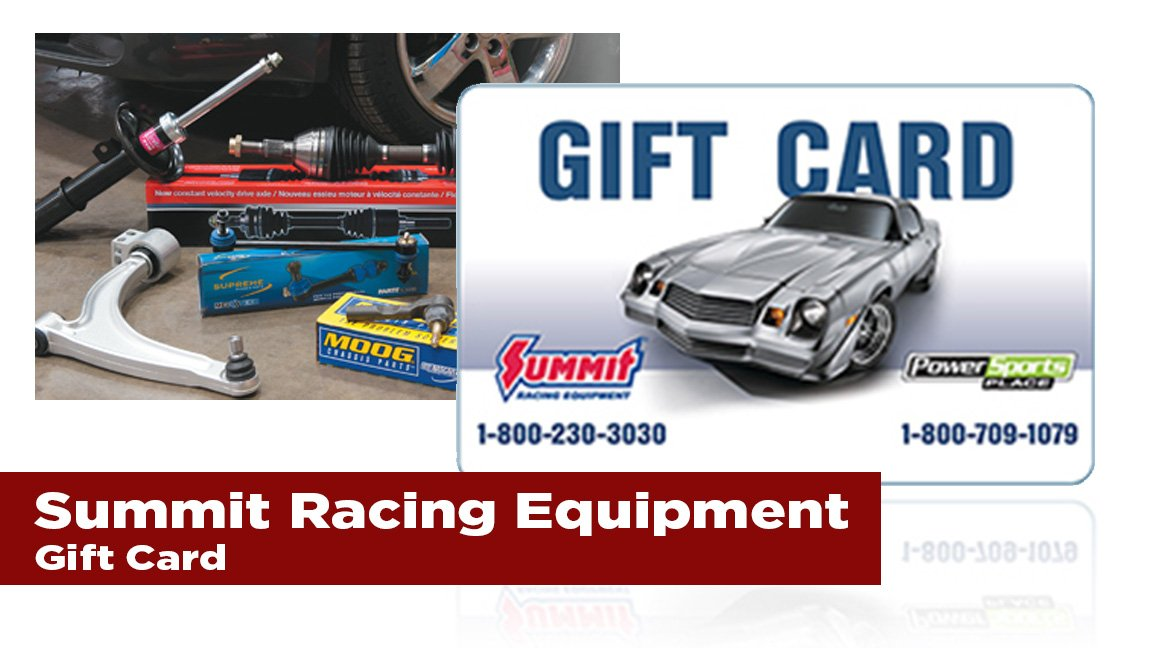 The Journal's holiday gift guide | summit racing equipment gift card