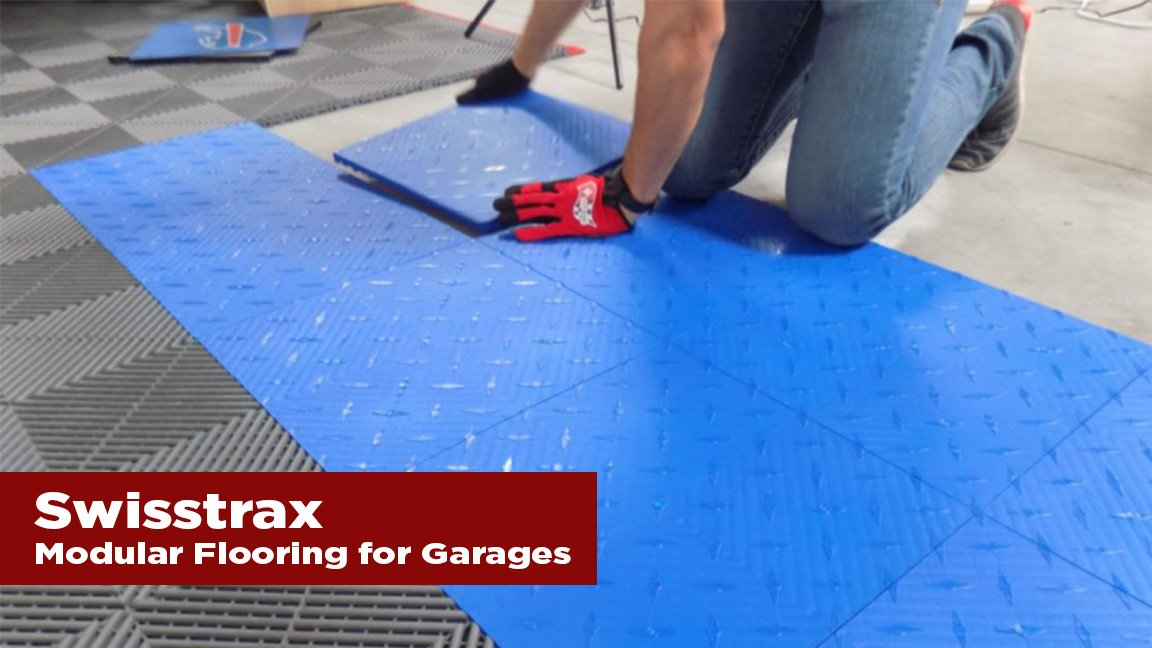 The Journal's holiday gift guide | Swisstrax modular flooring for garages