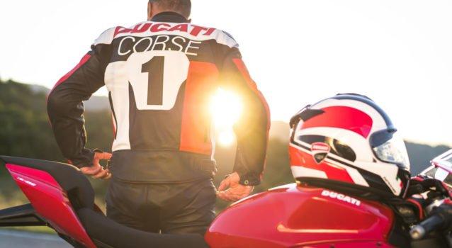 Ducati Apparel sport performance wear Ducati Corse C5 Leather jacket 2 UC215267 High