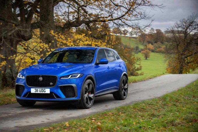 Jag F PACE SVR 21MY 29 Static DF2549 021220