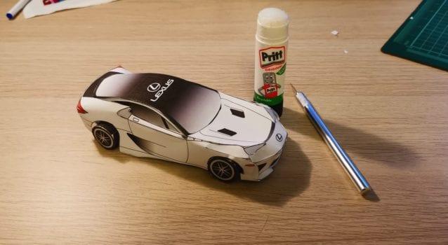 Lexus LFA Instructions feature