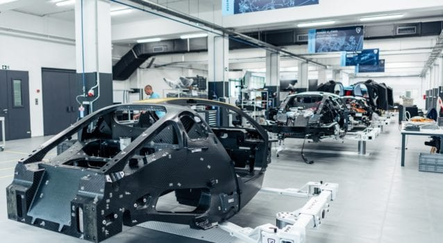 Rimac C Two assembly line 2