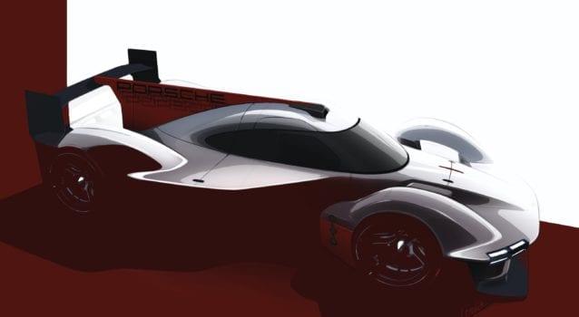 b5 Porsche Motorsport LMDh teaser front 2