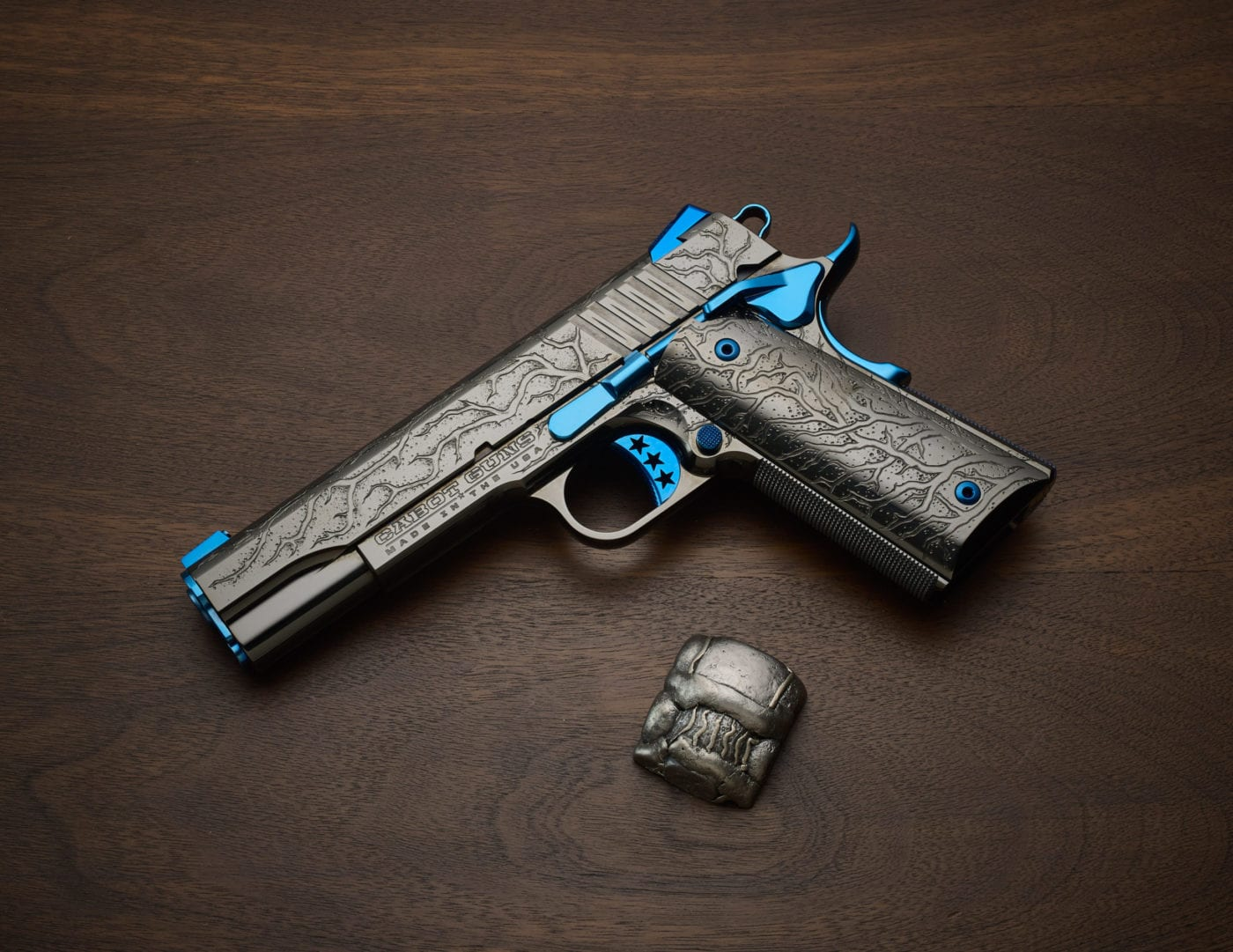 cabot guns blue scorpion 7