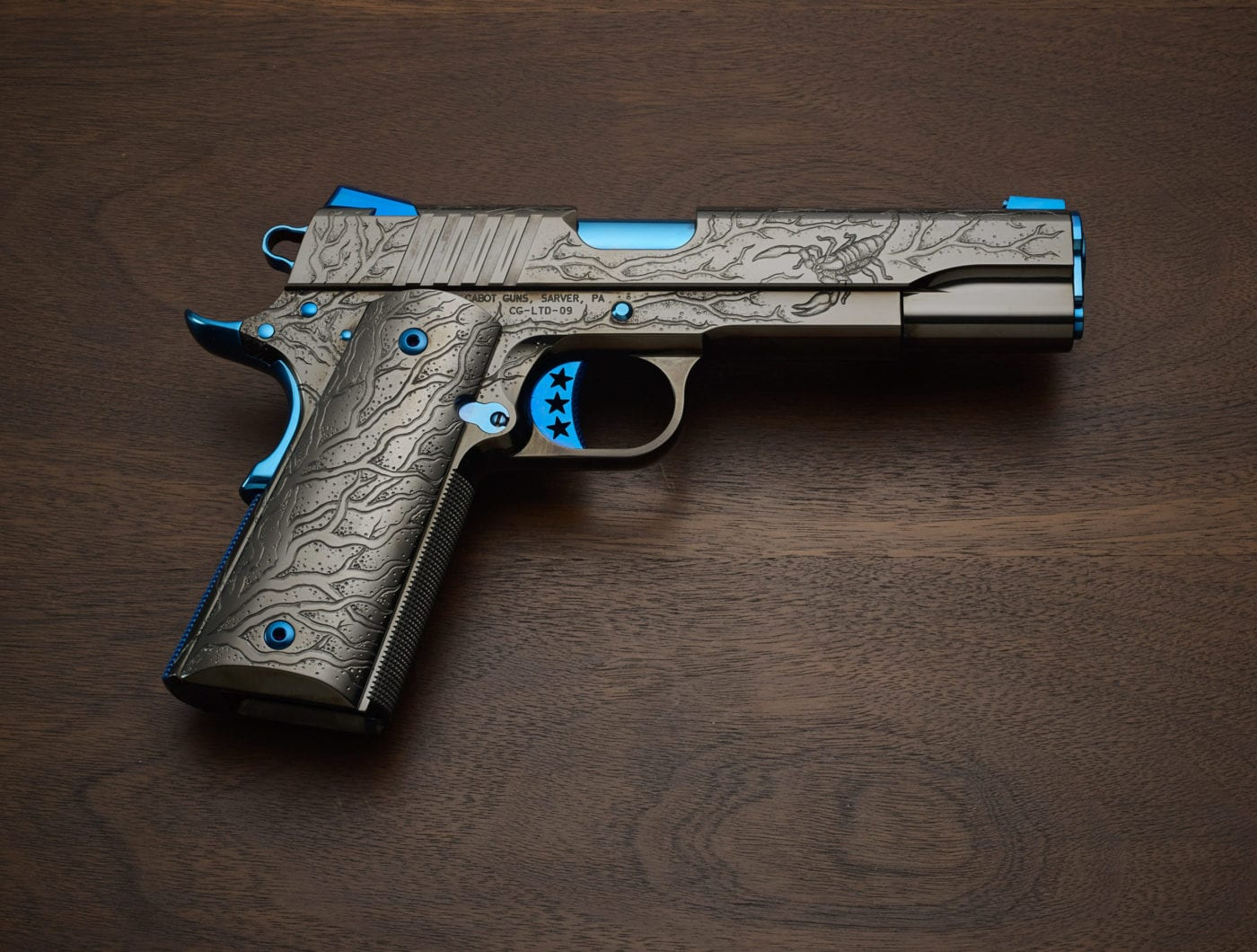 cabot guns blue scorpion 8