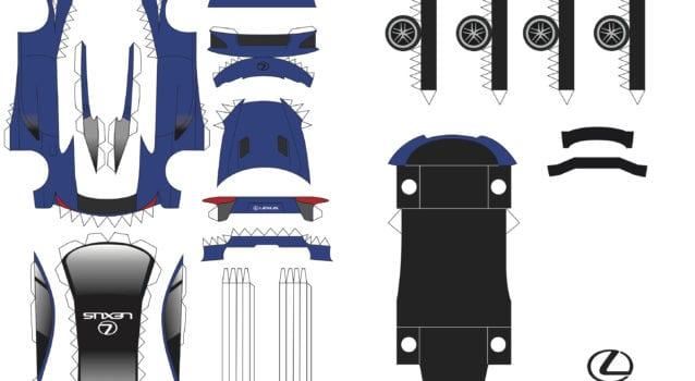 lfa papercraft blue final