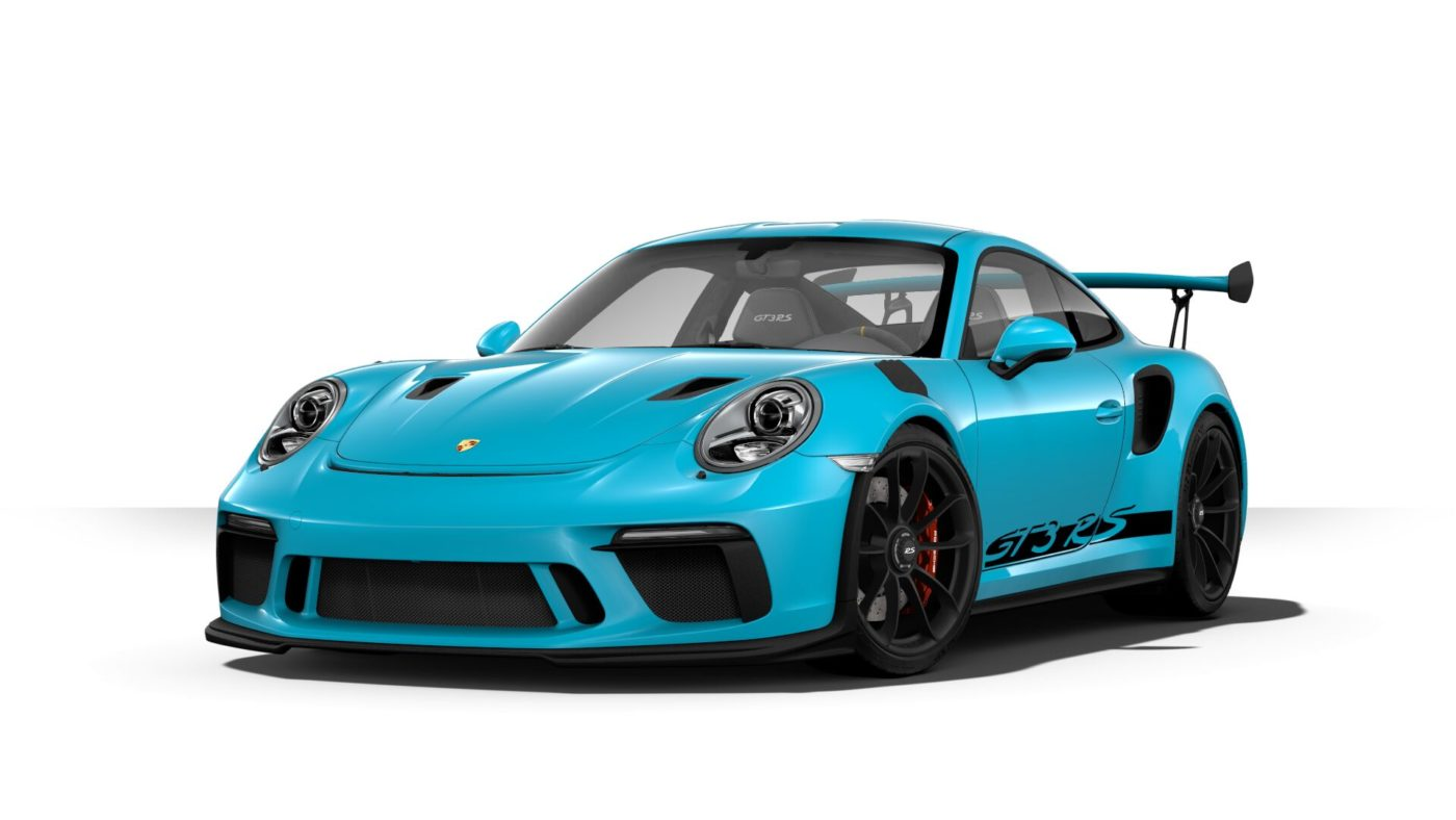 Porsche 911 GT3 RS specs look amazing from any angle