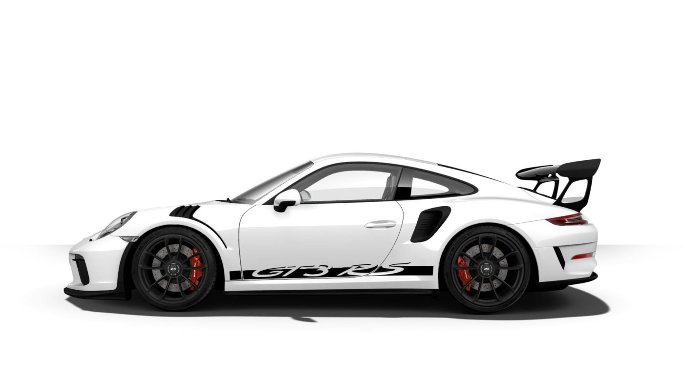 Porsche 911 GT3 RS specs include a design that is timeless