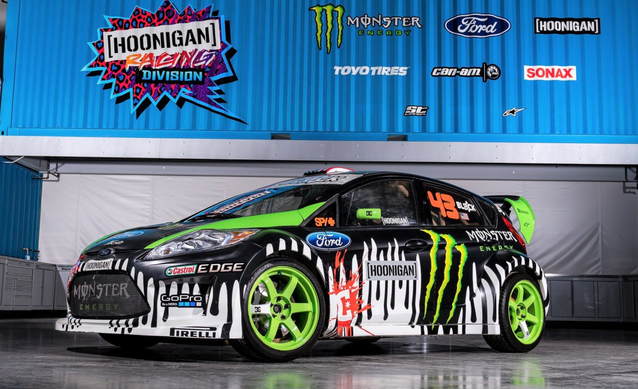 Ken Block selling three of his Gymkhana/rally cars