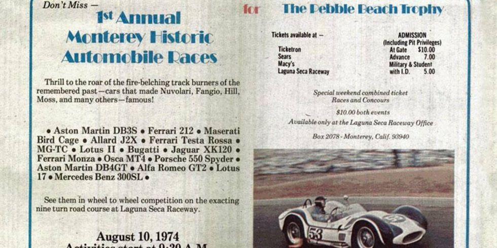 1974 Monterey Historics, Steve Earle
