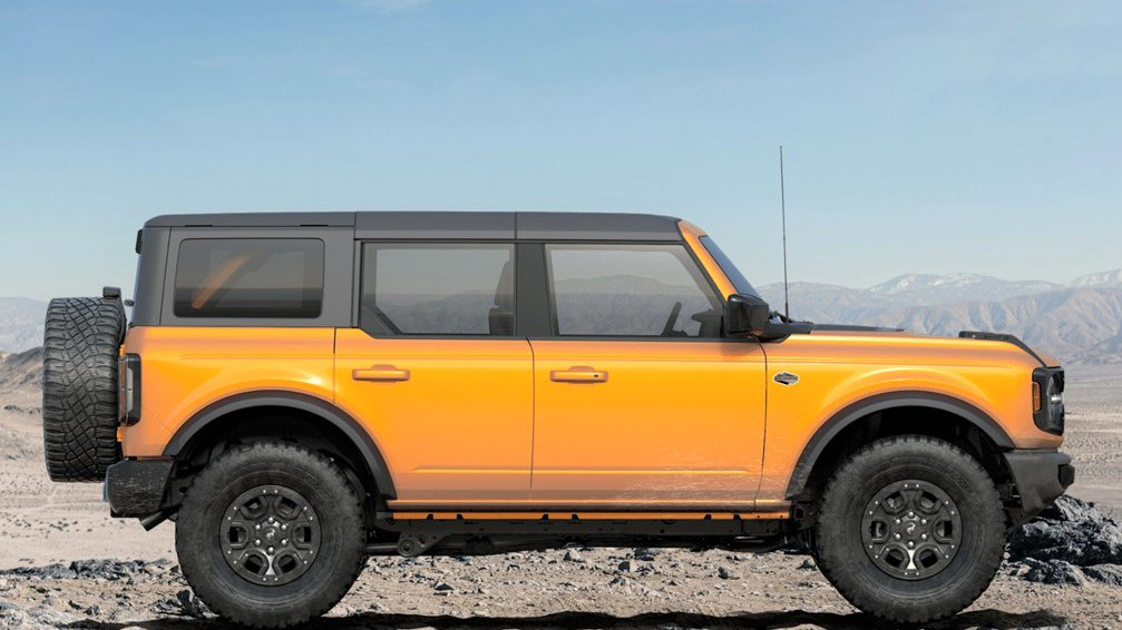 2021 Wildtrak Bronco