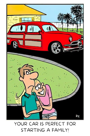 Classic Carl cartoon contest: The winning caption is...