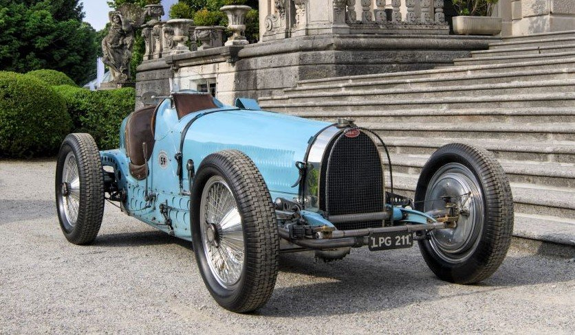 Bugatti's beautiful 1934 Type 59 racer to be displayed at Concours of Elegance