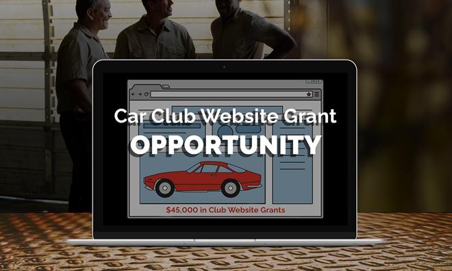 Car Club website grant opportunity