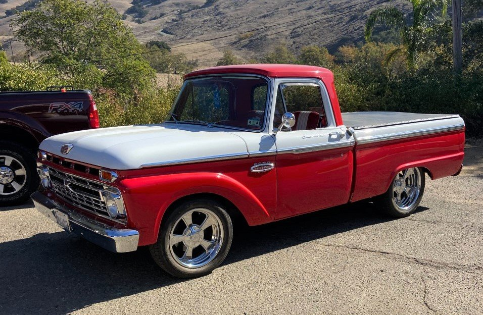 1966 Ford F-100 | My Classic Car Story: Building our own collection