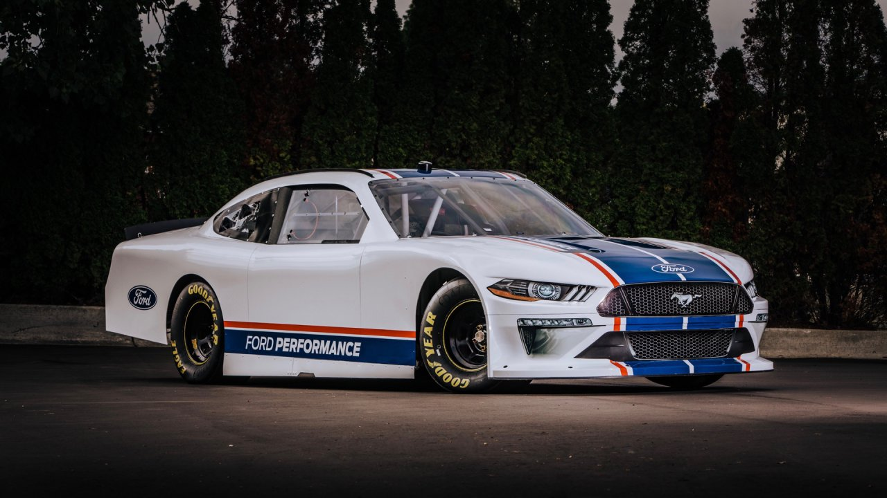 The latest Mustang race car was developed as a joint effort between Ford Design and the Ford Performance Technical Center, where development tools and simulators are advancing both race and production vehicles for Ford customers