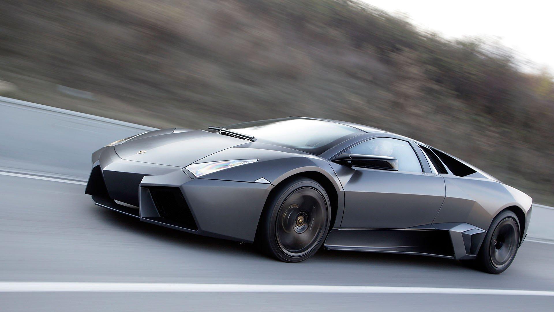 Lamborghini Reventon rolling shot