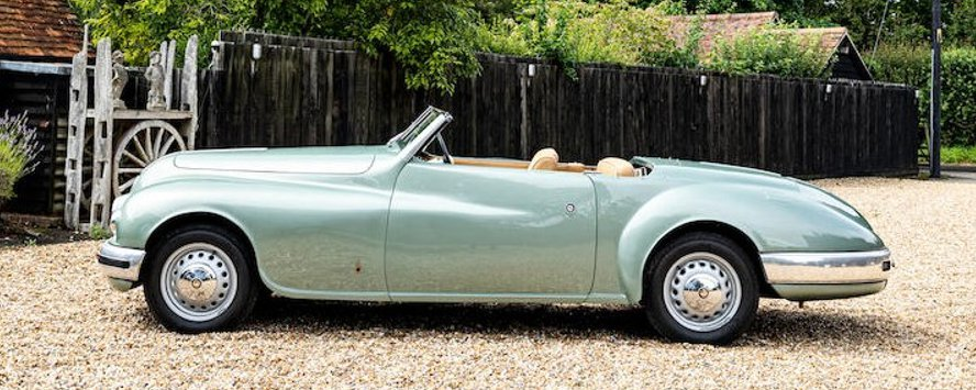 Jean Simmons' 1949 Bristol 402 drophead coupe