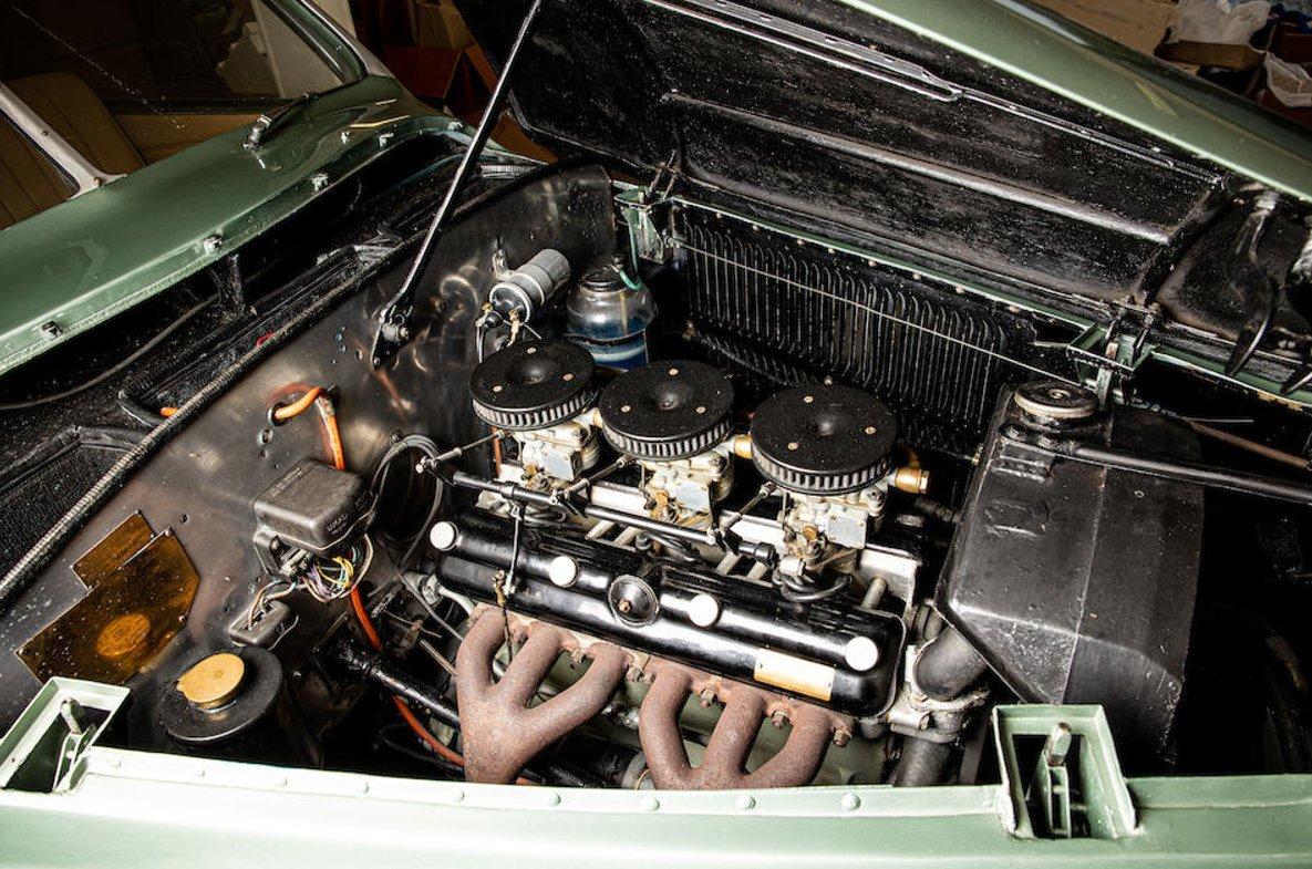 Jean Simmons' 1949 Bristol 402 drophead coupe engine