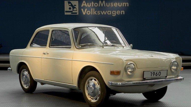 1960 VW EA97 prototype