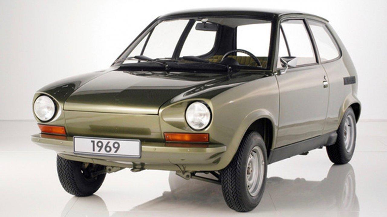 1969 VW EA266 prototype