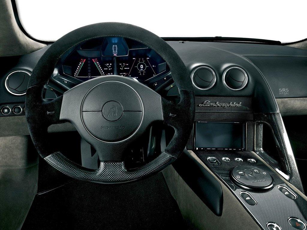 2008 Lamborghini Reventon interior