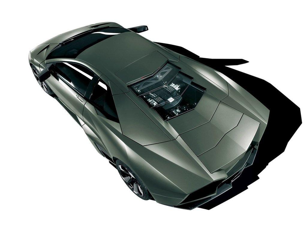 Top view of 2008 Lamborghini Reventon